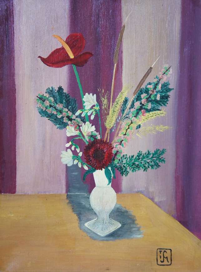 Joop Smits painting - Flower Piece
