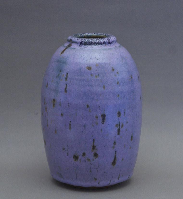 Canadian Pottery - Bob Kingsmill vase, 1972, ht. 8″ - British Columbia