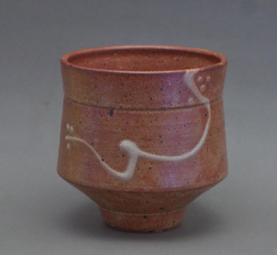 Canadian Pottery - Byron Johnstad stoneware tea bowl, ht. 5″ - British Columbia