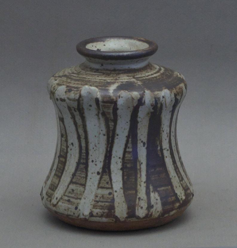 Canadian Pottery - Jack Sures vase, 5″ - Saskatchewan