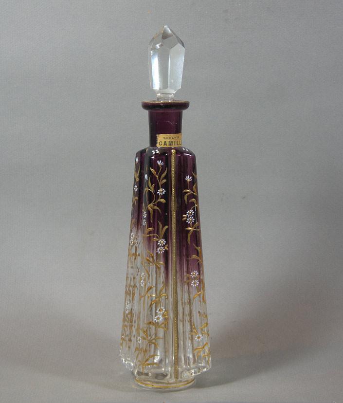 """LeGras / Mont Joye """"Camille"""" Perfume bottle"""