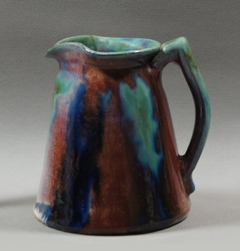 "Axel Ebring pottery jug – Notch Hill - 5-1/2"" high"
