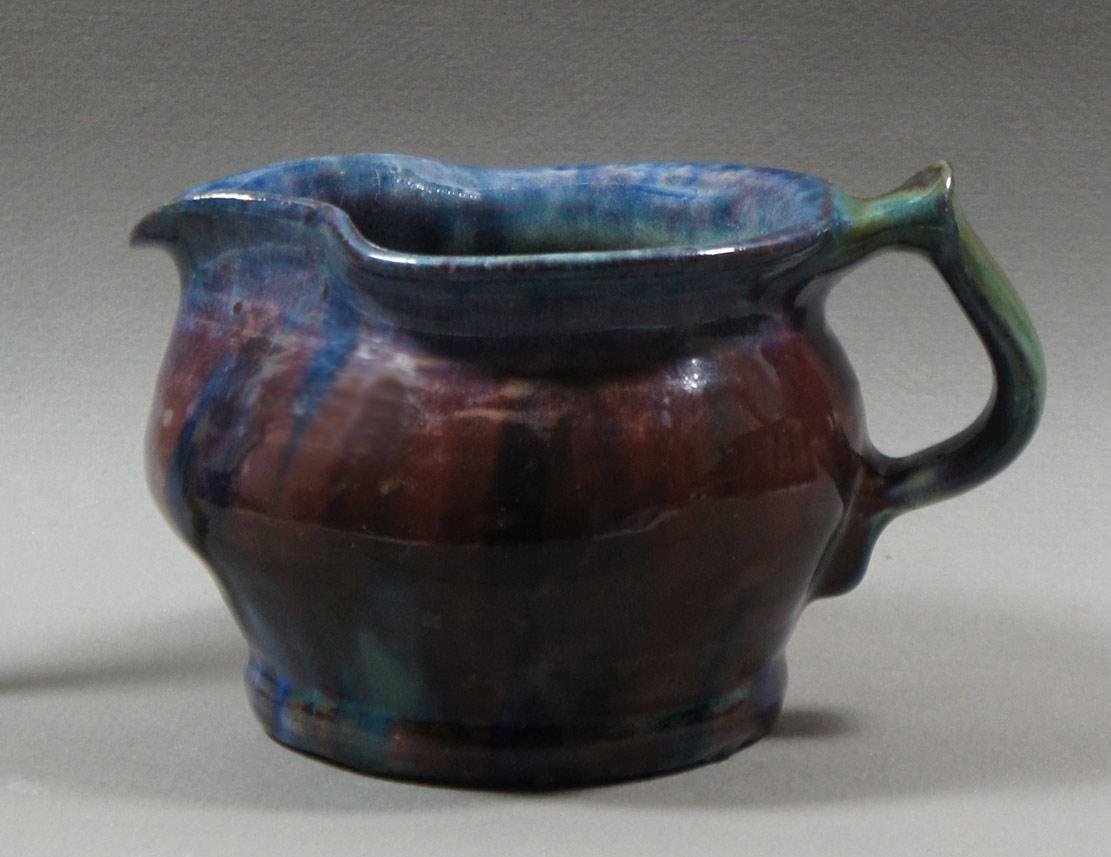 "Axel Ebring pottery jug – Notch Hill - 4"" high"