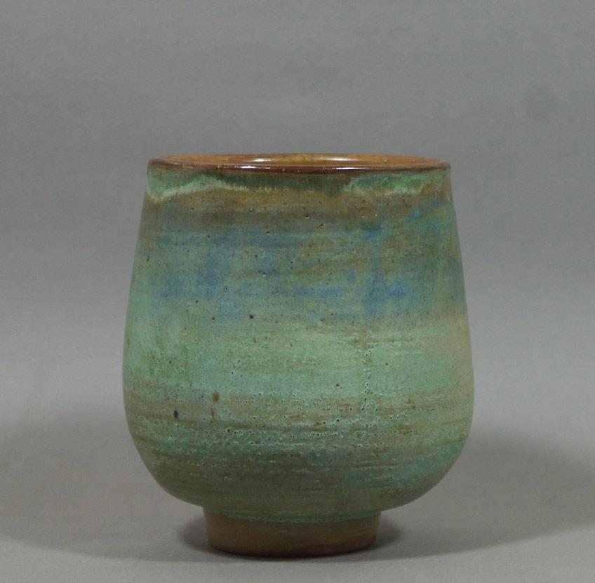 """Ted Diakow teabowl, ht. 5-1/4"""", Alberta"""