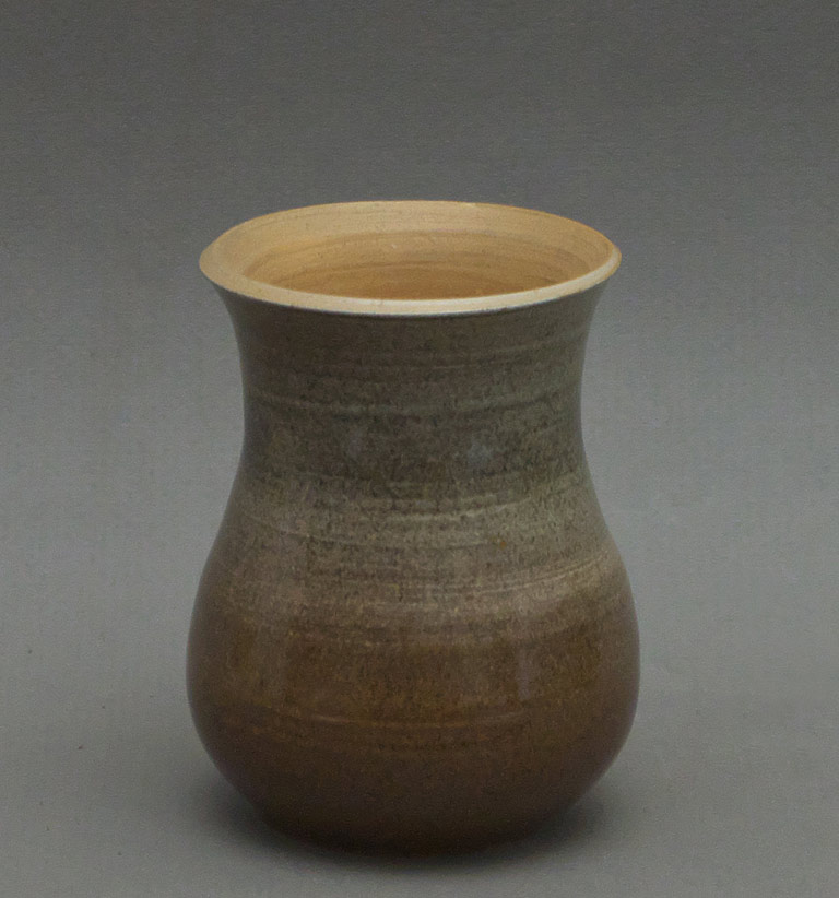 "Canadian Pottery - University of Saskatchewan, signed ""WHP"" and dated 1926 – ht. 3-1/2″"