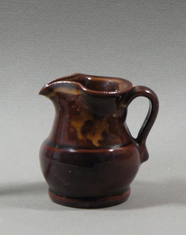 """Axel Ebring pottery cream jug, Vernon BC - 3"""" high"""