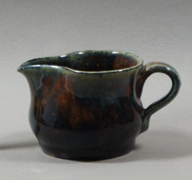 """Axel Ebring pottery cream jug, Vernon BC - 2-3/4"""" high"""