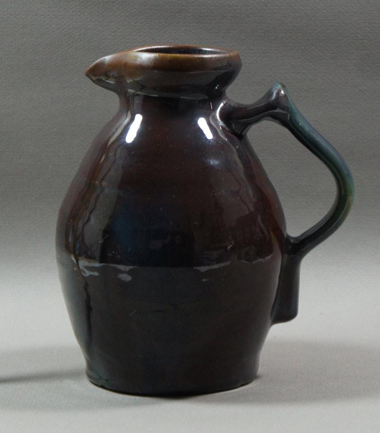 """Axel Ebring pottery jug – Vernon BC - 7"""" high"""