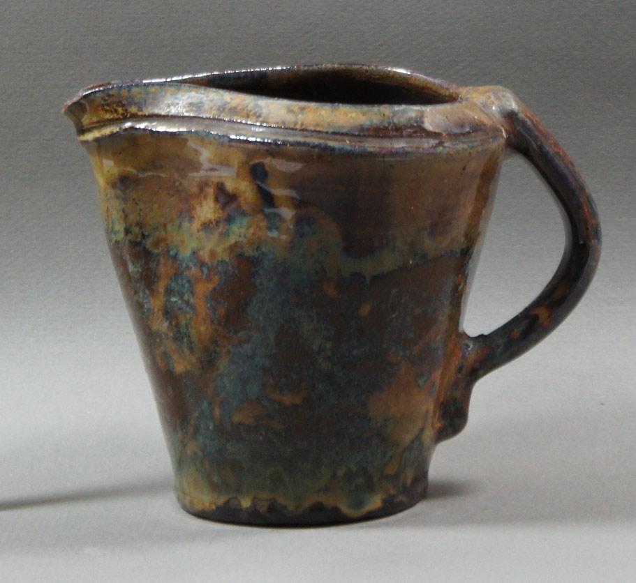 """Axel Ebring pottery jug – Vernon BC - 4-1/2"""" high"""