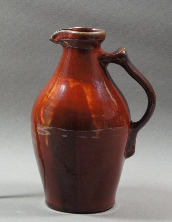 """Axel Ebring pottery jug – Vernon BC - 7-1/2"""" high"""