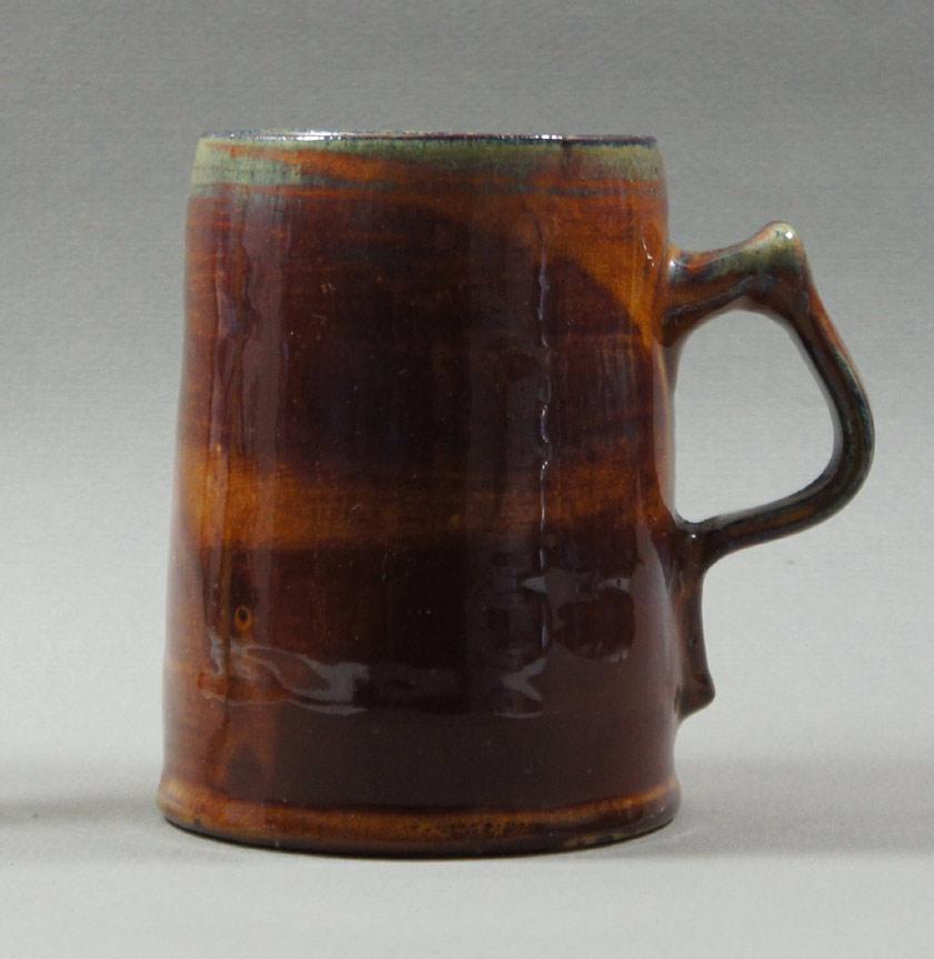"""Axel Ebring pottery jug – Vernon BC - 5"""" high"""