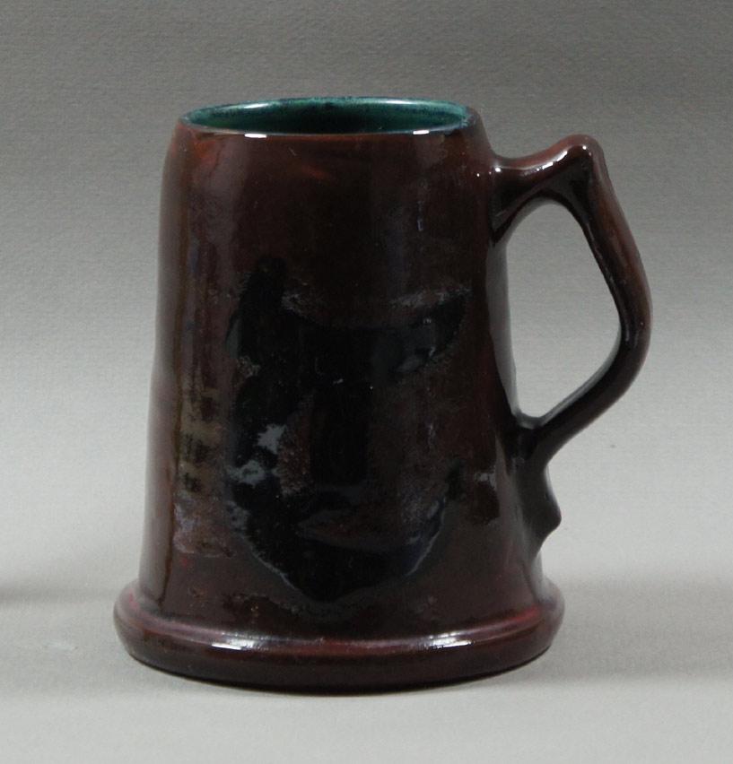 """Axel Ebring pottery mug – Vernon BC - 5"""" high"""