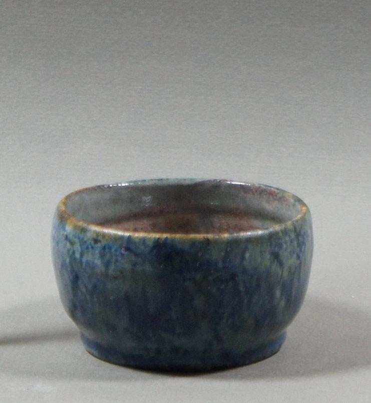 """Axel Ebring pottery sugar bowl – Vernon BC - 2"""" high"""