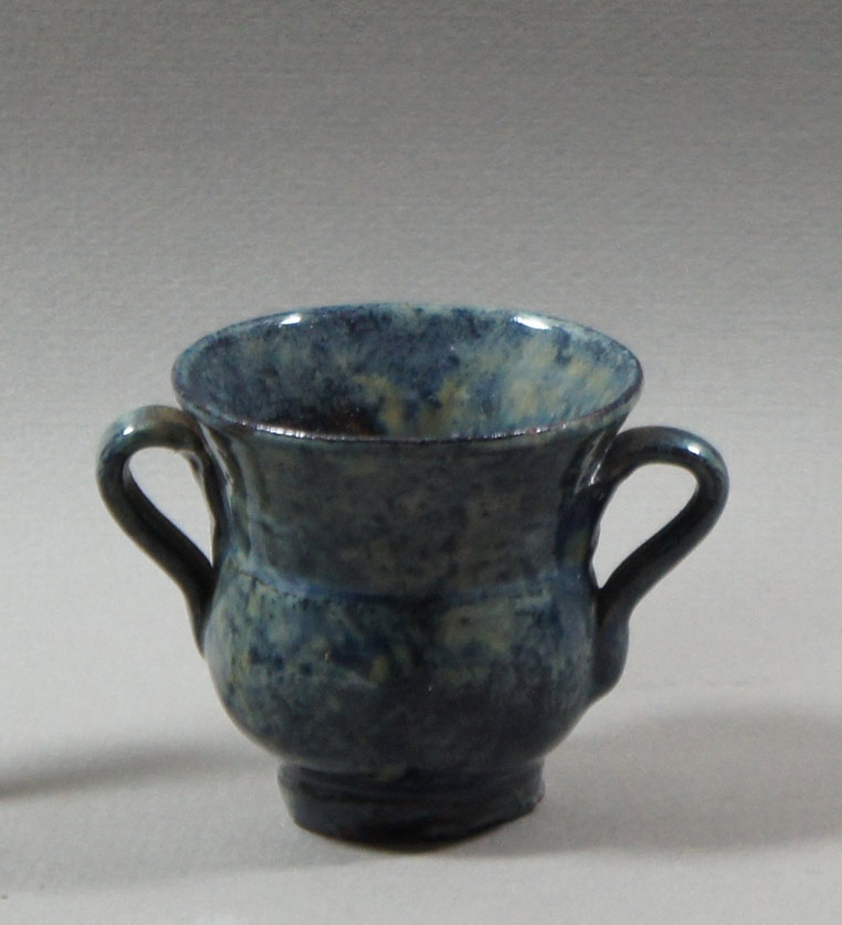 "Axel Ebring pottery vase – Vernon BC - 2-1/2"" high"