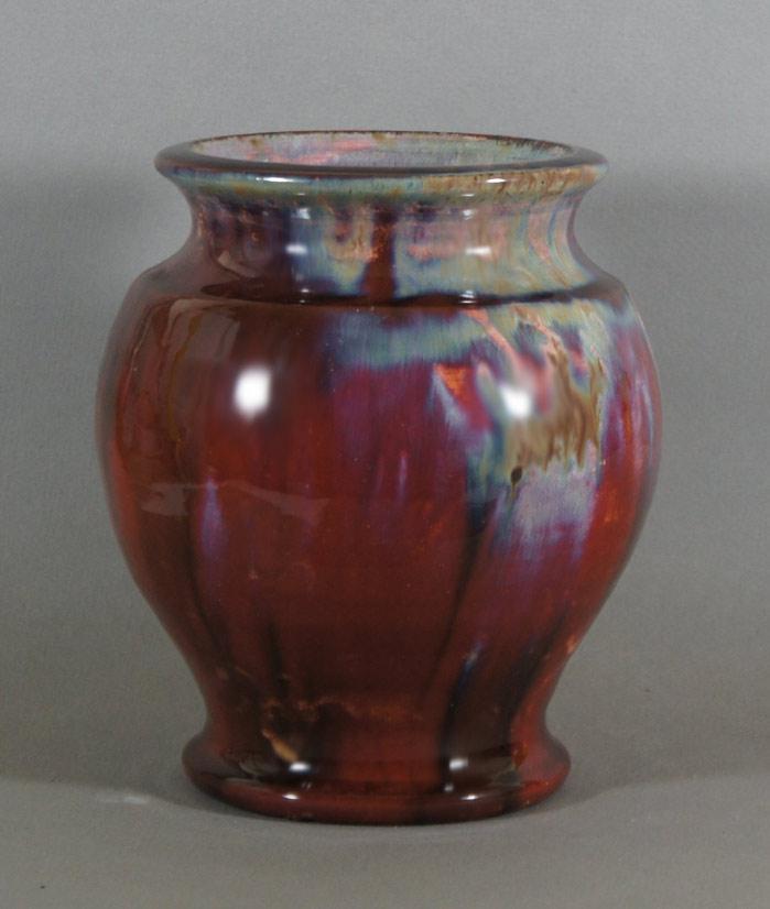 "Axel Ebring pottery vase – Vernon BC - 8-1/2"" high"