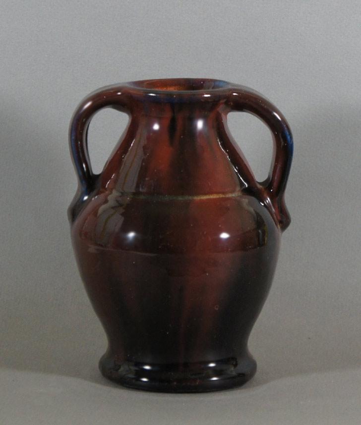 "Axel Ebring pottery vase – Vernon BC - 7"" high"