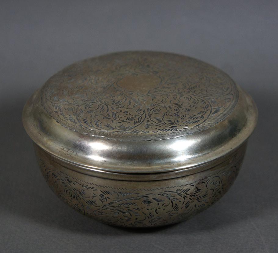 continental silver box