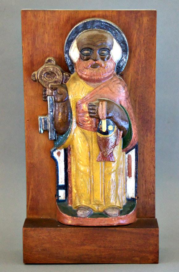 Valentin Shabaeff, Saint Peter figure