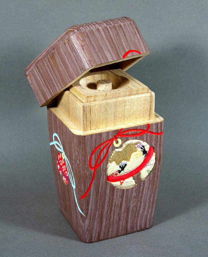 Wooden Tea Caddy Japan