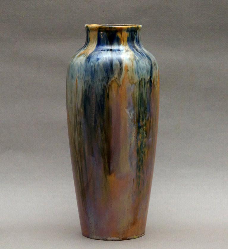 early 20thc Czech art pottery vase