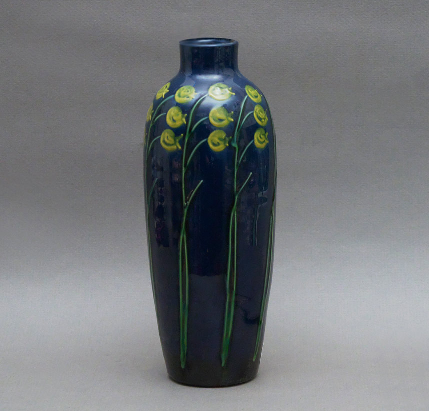 Max Laeuger pottery vase