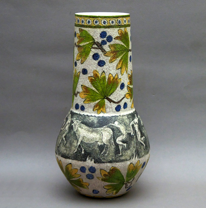 Spanish porcelain vase