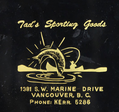 Tad's sporting goods