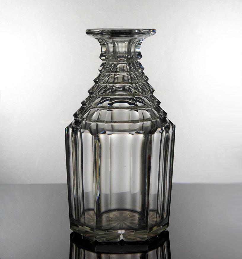 Anglo-Irish cut glass decanter