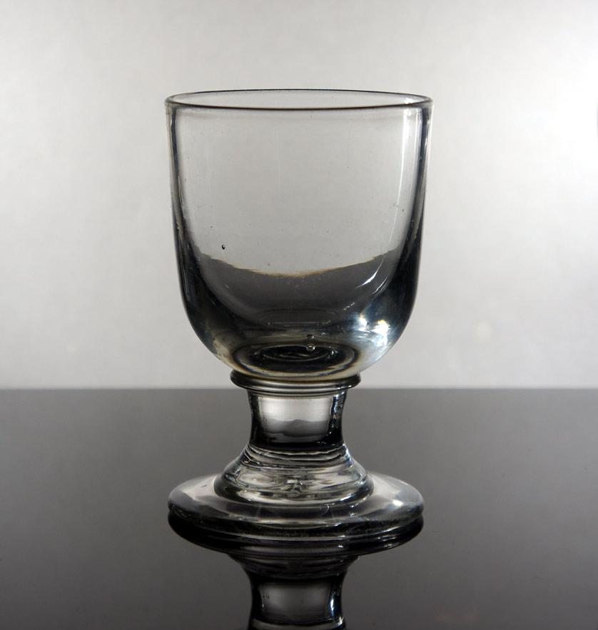 Early 18th century Georgian water glass