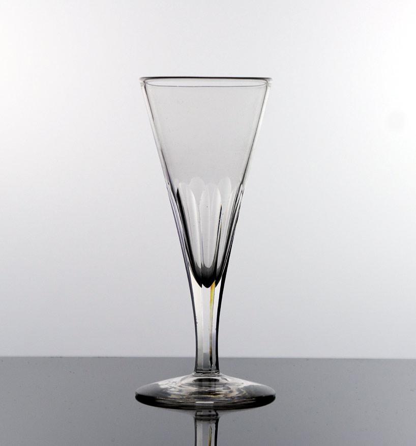 George IV ale glass