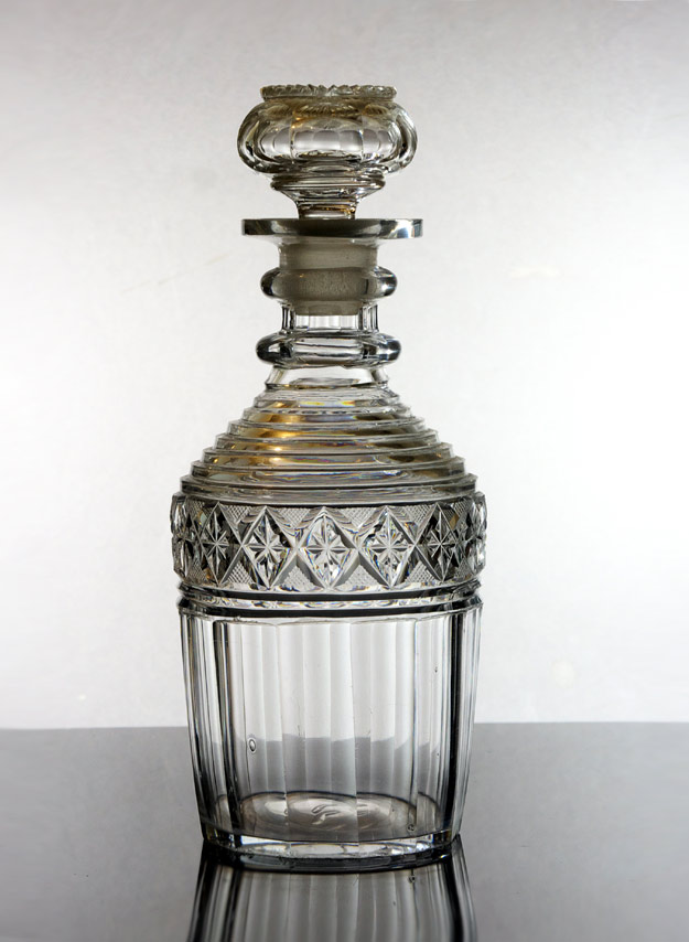 Georgian decanter - one of three