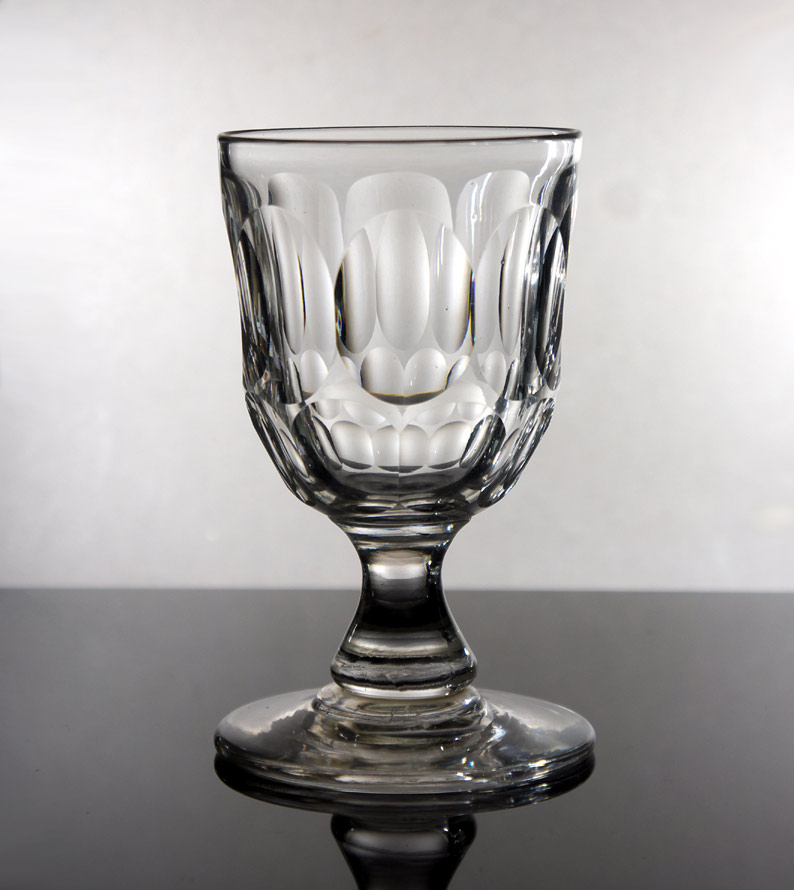 Victorian baluster water glass #1