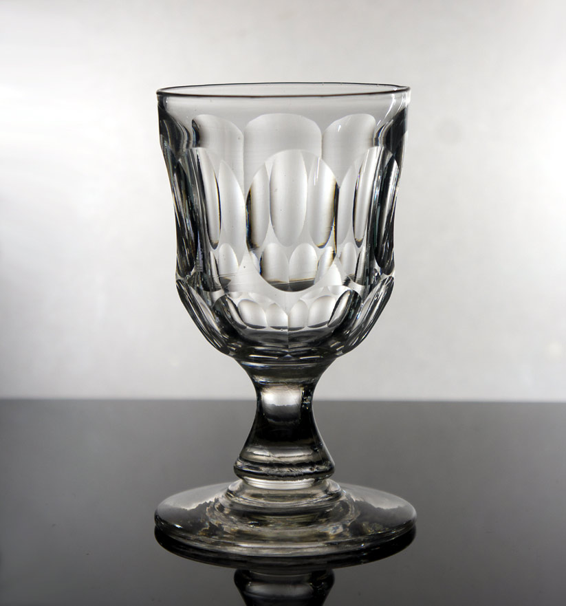 Victorian baluster water glass #2