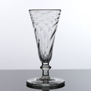 an early 'flammiform' ale glass